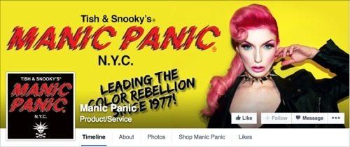 Manic Panic on Facebook