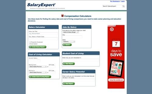 SalaryExpert - Compensation Calculator