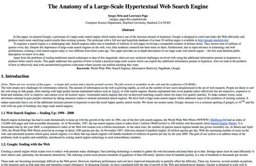 The Anatomy of a Large-Scale Hypertextual Web Search Engine.