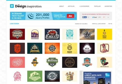 The Design Inspiration website