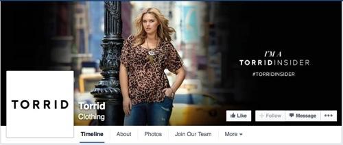 Torrid on Facebook