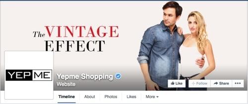 Yepme on Facebook