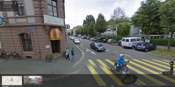 If the street view on Google Maps is accurate, the delivery address is an odd place for horse feed.