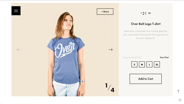 OVER Clothing is a Serbia-based clothing company.