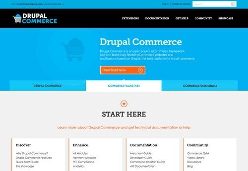 Drupal Commerce website