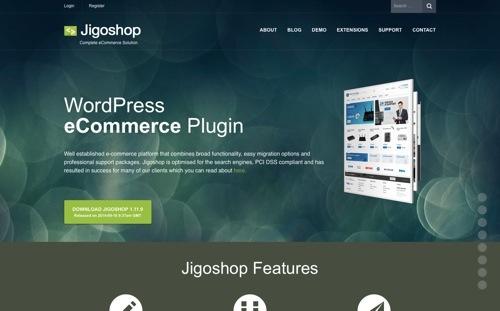Jigoshop website