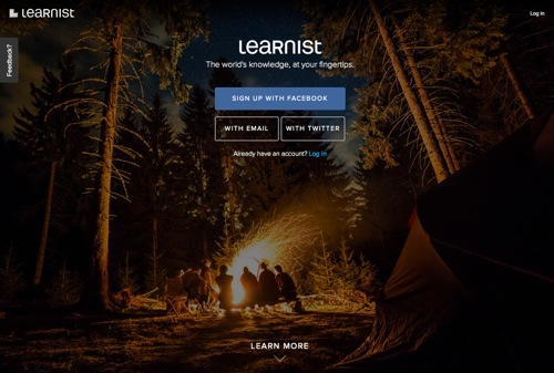Learnist website