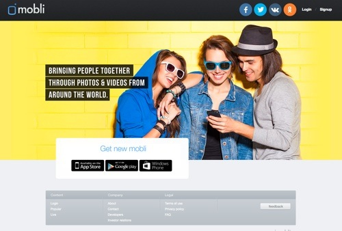 Mobli website