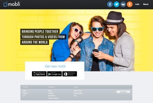 Mobli website