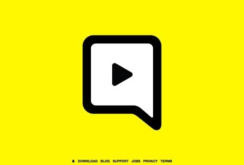Snapchat website