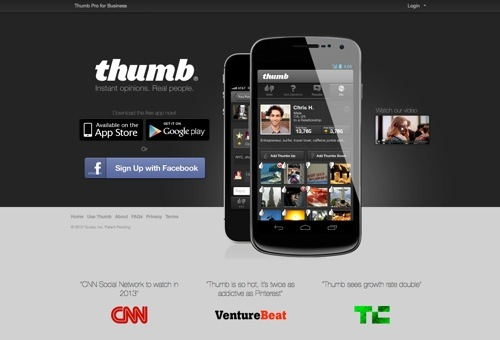 Thumb website