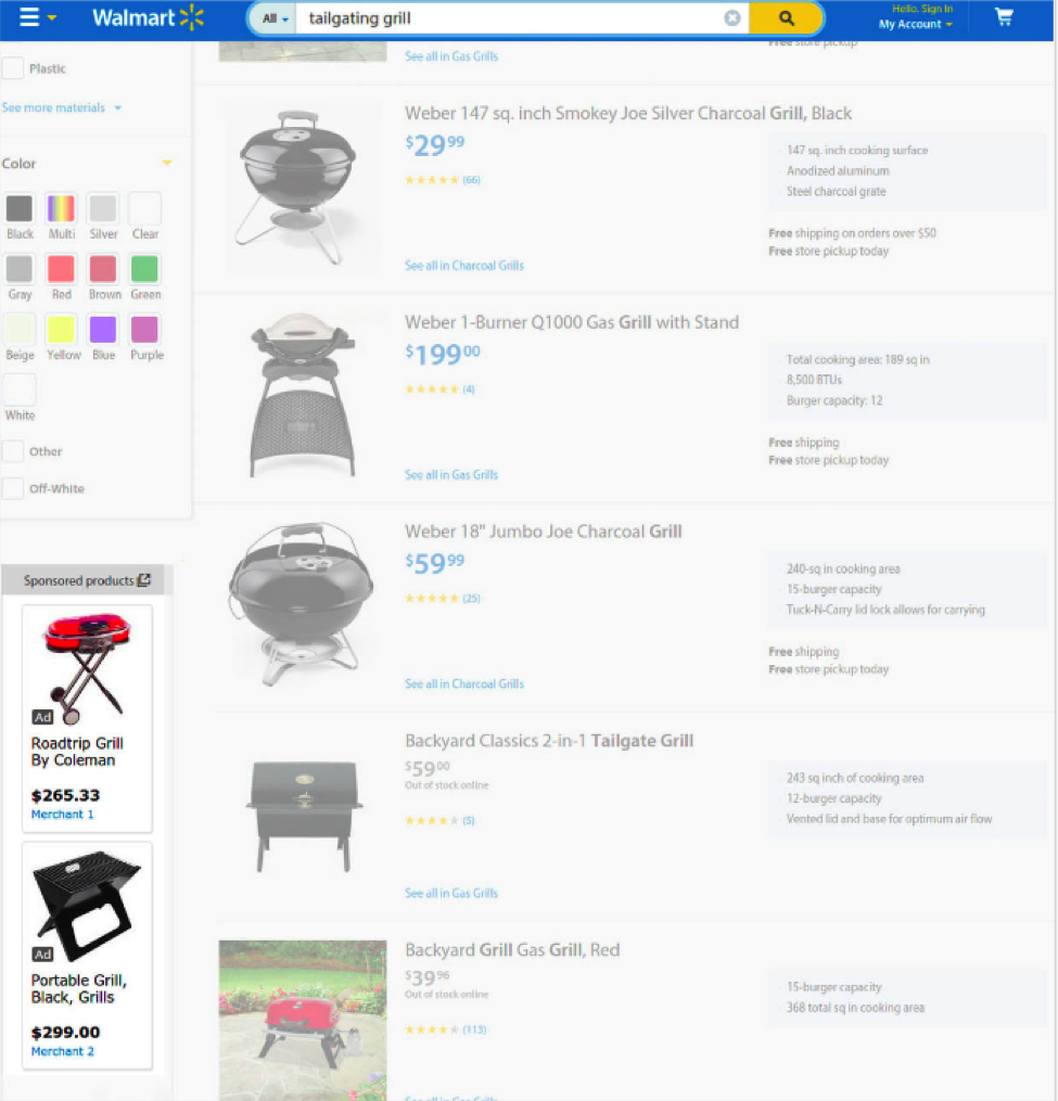 Walmart AdSense for Shopping