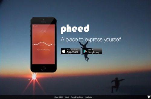 Pheed website