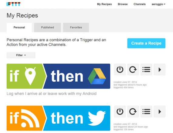 IFTTT is a free tool for connecting applications and devices.