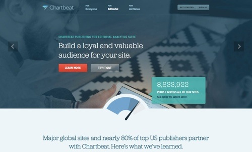 Chartbeat website
