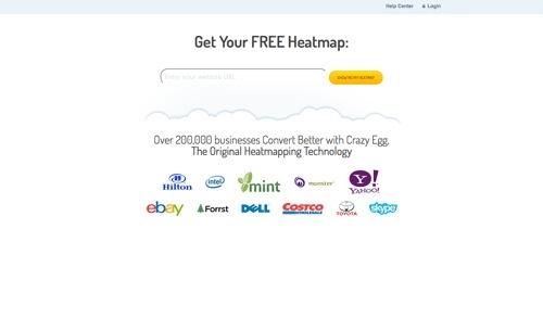 Crazy Egg website