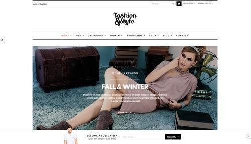 Fashion & Style theme.