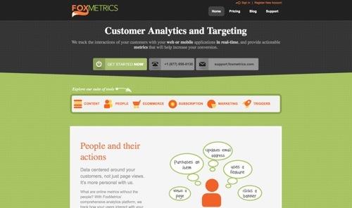 FoxMetrics website
