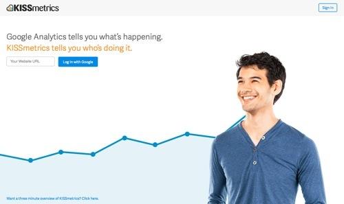 KISSmetrics website