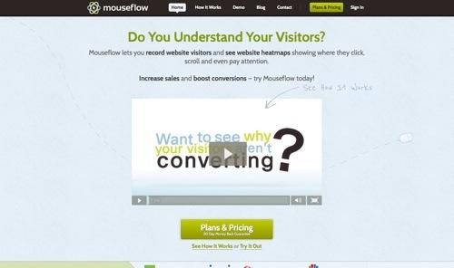 Mouseflow website
