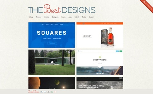 The Best Designs website