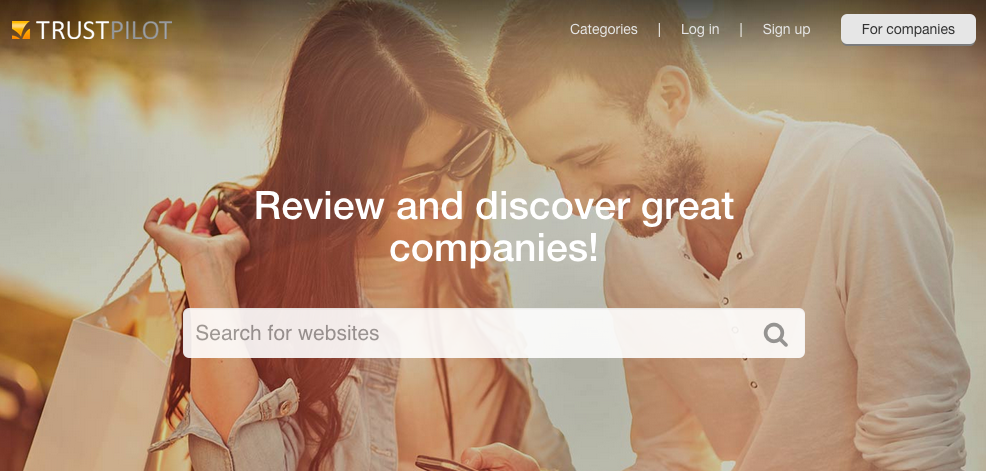 Trustpilot can help determine what consumers think of competitors' sites and products.