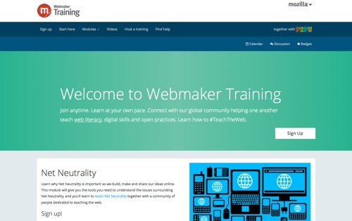 Webmaker website