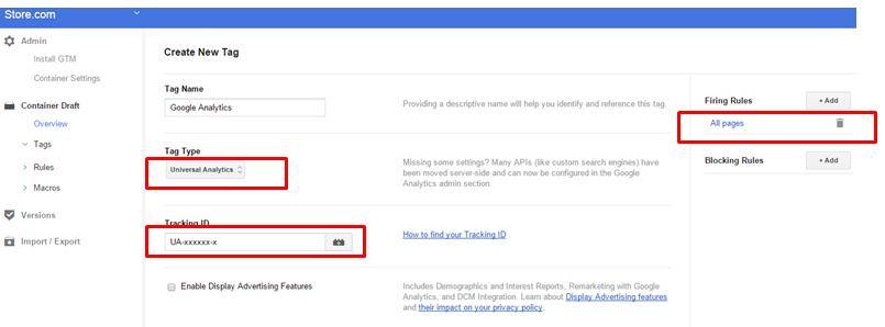 Create a tag to fire on all pages that will send all the GTM data to Google Analytics.