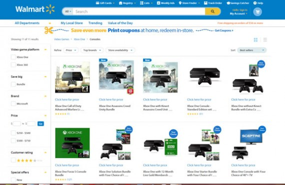 Walmart can be serious competition for new ecommerce businesses.