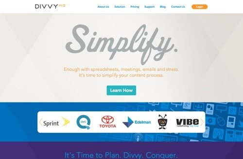 DivvyHQ website
