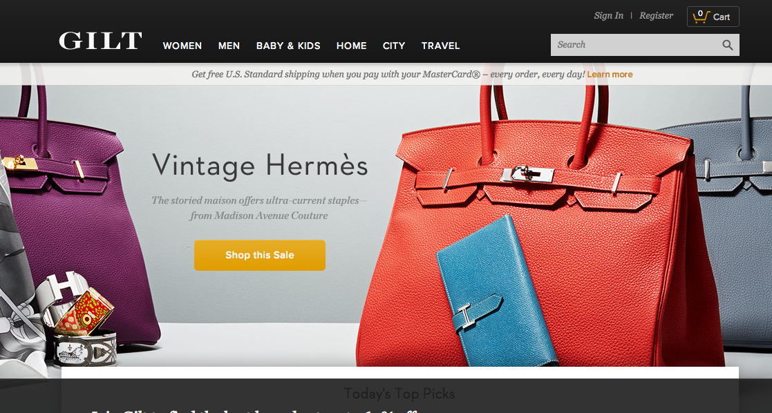 Gilt Groupe's loyalty program a contributed greatly to its success.