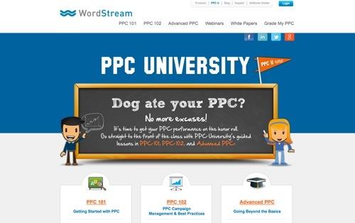 PPC University website