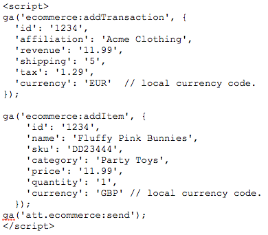 For the Tracking Code method, place the code on the thank-you or confirmation page.