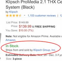 Amazon marketplace.