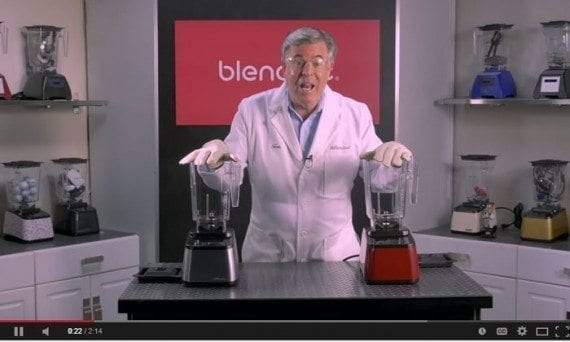 Will It Blend is the classic example of entertaining videos that connect to customers.