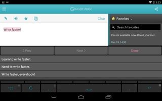 Ginger Keyboard on Android.