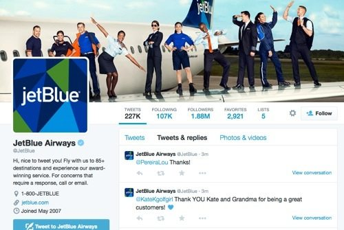 JetBlue Airways on Twitter