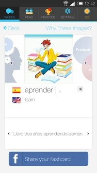 Lingua.ly on Android.
