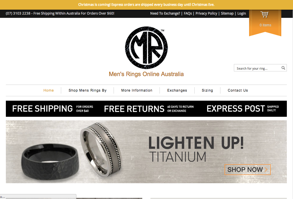 Men's Rings Online