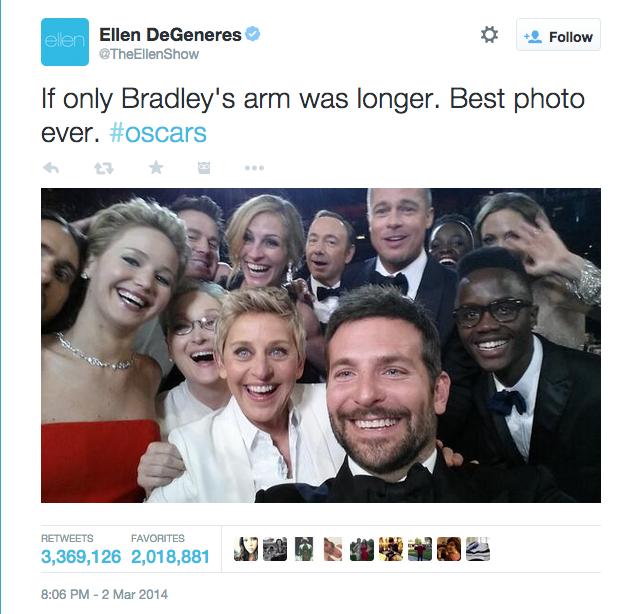 Samsung's Oscars Selfie