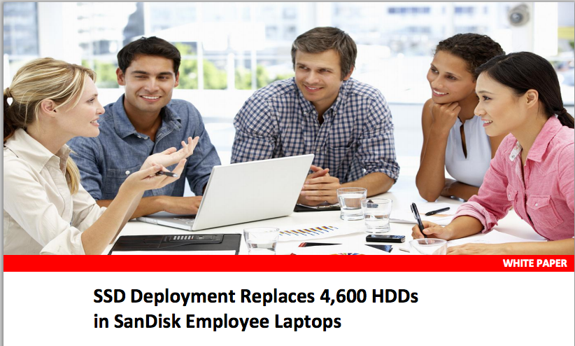 The SanDisk case study is very interesting to anyone interested in information technology or business computing optimization, and it is also very likely to lead to sales for the company.