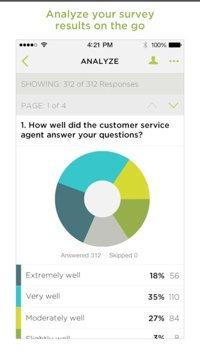 SurveyMonkey on iPhone.