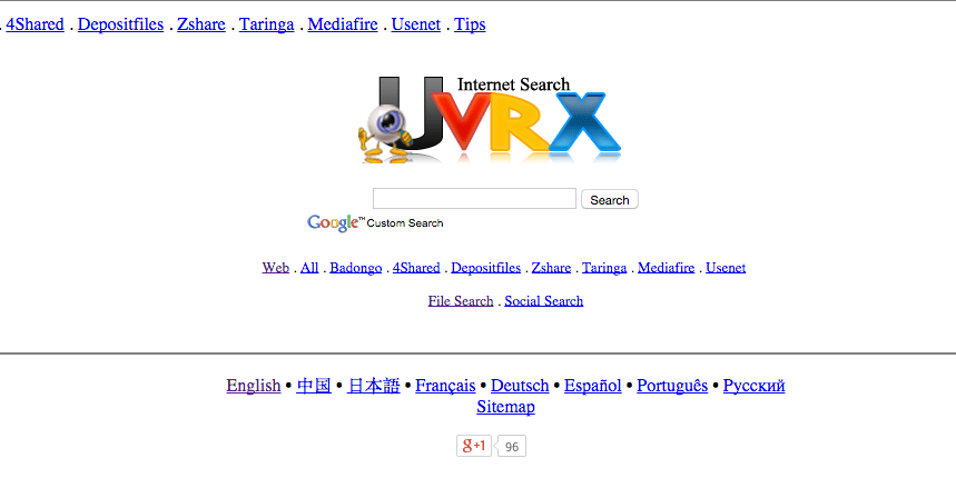 UVRX lets you conduct searches across various social sites and blogs — as does Social Mention.