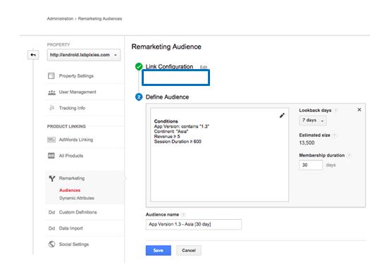Marketers can now import shared audience definitions.
