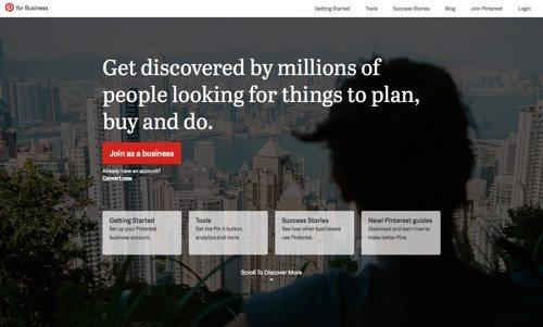 Pinterest for Business.