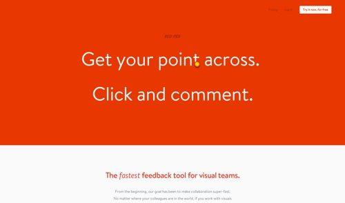 Red Pen website