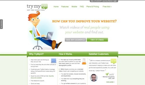 TryMyUI website