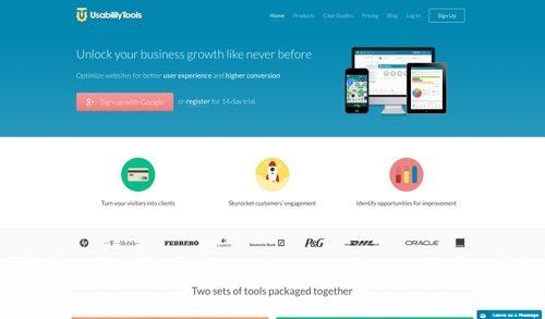 UsabilityTools website
