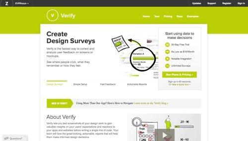 Verify website