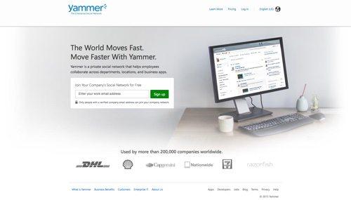 Yammer.